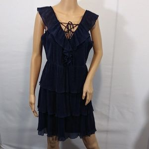 She & Sky Layered Sleeveless Dress NWT Size L